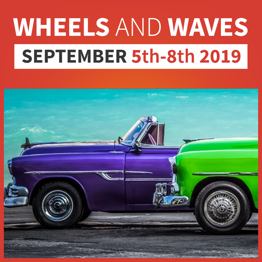wheels and waves car show